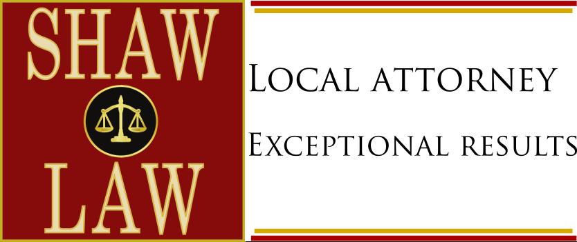 Shaw Law tagline